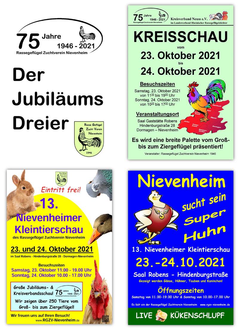Rasse Geflugel Zucht Verein Nievenheim Gegr 1946